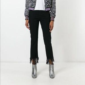 3X1 Mamba frayed cropped jeans